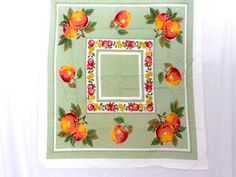 Vintage 1950s Linen Pistachio Green by OakeyCreekVintage on Etsy, $45.00