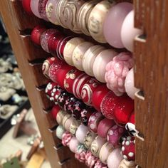 Beads made by Julia Trubitsyna