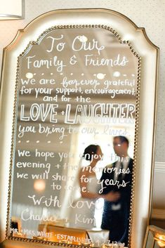 Fabulous Mirror Wedding Ideas ❤ See more: http://www.weddingforward.com/mirror-wedding-ideas/ #weddings