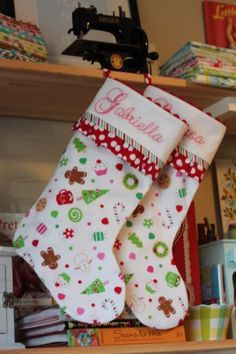 27 Free Diy Homemade Christmas Stockings Patterns And Tutorials