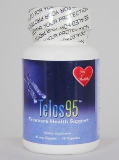 Joy of Health Anti-Aging-Telomere-Health-Support-Halts-Telomere-Shortening-Telomerase-Booster