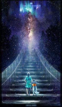 ✯ Stairway to Heaven .. By *Ryuuka-Nagare*✯