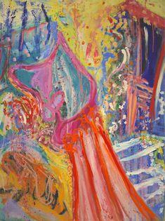 """Juliet Dances!"" oil on canvas 101 x 76cm Abstract Expressionism, Abstract Art, Oil On Canvas, Canvas Art, Original Paintings, Original Art, The Other Art Fair, Oil Painters, Love Painting"