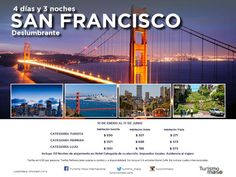 Un viaje de Mil Millas comienza por el primer paso! travel without limits! Asesor de Viajes VOLANDO:   SAN FRANCISCO GETAWAY PACKAGES - ESCAPADITA EN ...