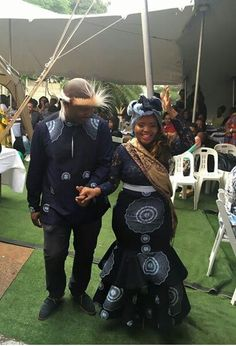 African Wear, African Attire, African Fashion Dresses, African Dress, African Style, African Wedding Attire, African Weddings, Xhosa Attire, Traditional Outfits