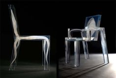 "KAGADATO selection. The best in the world. Industrial design. ************************************** Studio Drift, ""Ghost Chair."""