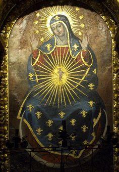 Virgin Mary, Cordoba Cathedral (La Mezquita)