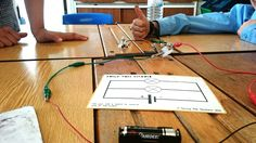 Electricity Circuit Activity - My class loving our electricity circuit building task cards. They explored series and parallel circuits and investigated lots of different things with the challenge questions.