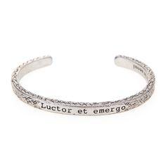 Silver Burnish Luctor et emergo bangle  #mensfashion#jewelry#bracelet#naturalgemstone#fashion#style#ootd#daily#gift#luxury#bangle