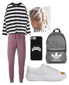 """Random"" by eriarai on Polyvore featuring Puma, NIKE and adidas"