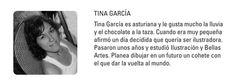 """TINA GARCÍA  """"Deva y el pollito""""  """"Binoca"""""""
