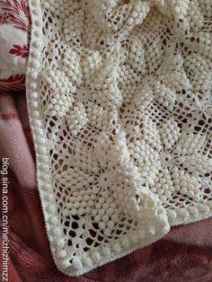 [转载]毛线钩针豆豆毯教程
