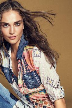 Chemise en jean pour femme Desigual. Découvre la collection automne-hiver2015!