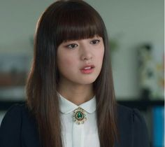 Kim Ji Won as Yoo Rachel in The Heirs/The Inheritors 상속자들 Rachel's statement cat wing/eyeliner