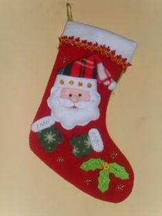 botas navideñas tejidas en crochet - Buscar con Google