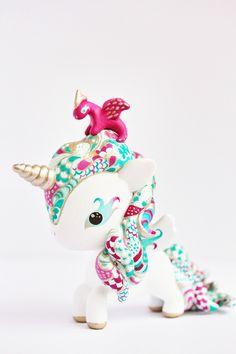 Mijbil Creatures: A Turquoise Tokidoki Unicorn