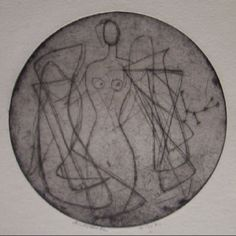 Andromeda - etching - Anne Ryan