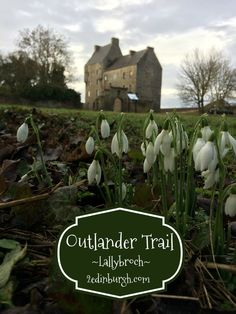 Lallybroch which doubles as Midhope Castle - visit the blog for more details of how much Outlander location touring you can fit into one weekend!