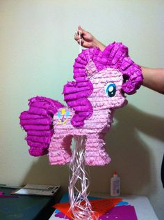Mi pequeño Pony Pinkie Pie piñata para la por Vintagebabydoll
