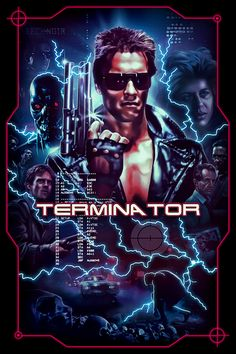 The Terminator Movie Poster Madness - Poster Artworks A-Z