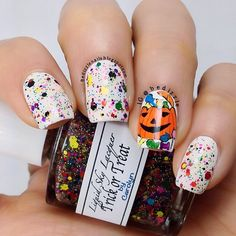 halloween by bedizzle #nail #nails #nailart