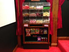 And no theater experience would be complete without candy!