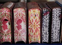 Painted book art