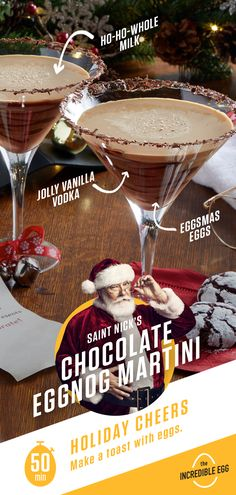 Christmas Cocktails, Holiday Drinks, Party Drinks, Christmas Desserts, Cocktail Drinks, Holiday Treats, Fun Drinks, Yummy Drinks, Holiday Recipes