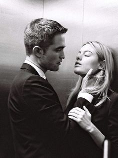 Robert Pattinson and Camille Rowe for Dior Homme