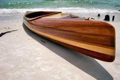 micro-Bootlegger: Elegant Strip-Built Tandem Kayak from Nick Schade