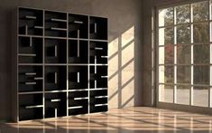 The Libreria ABC modular bookcase system consists of shelving cubes that are cleverly shaped like letters and numbers. Libreria ABC is the work of Italian design firm Saporiti. It's unclear if or when the bookcase will be on sale. Creative Bookshelves, Bookshelf Design, Bookshelf Ideas, Book Shelves, Modern Bookshelf, Small Shelves, Contemporary Bookcase, Library Shelves, Cube Shelves