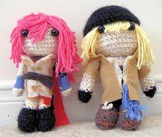 Final Fantasy XIII crochet - CROCHET