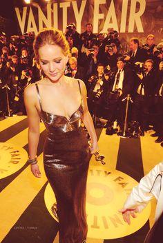 Jennifer Lawrence; 2013 Vanity Fair Oscar Party: #perfection; #oscars2013