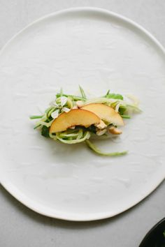 Nectarine and pickled cucumber rice paper rolls {vegan + gluten-free} #immigrantfoodstories – My Darling Lemon Thyme
