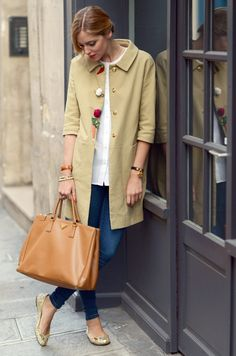 simple trench.