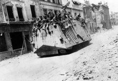 German tank - WW1