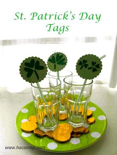 Quick Craft: St. Patrick's Day Tags | My Scraps