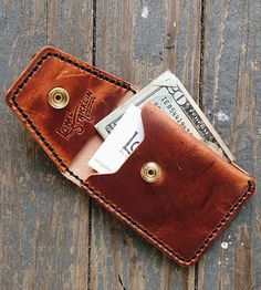 Front Pocket Leather Wallet | Men's Wallets & Bags | Loyal Stricklin | Scoutmob Shoppe | Product Detail