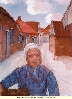 Piet Mondrian. On the Lappenbrink./ Op de Lappenbrink. Olga's Gallery.