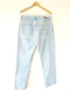 fa63c4ed0aa  Vintage  90s  TOMMY  HILFIGER  BOYFRIEND  Denim  Jeans  fashion. More  information. More information. Wms  90s  DENIM High Waist  LA BLUES   Carpenter ...