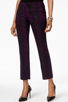These Fashion Trends Are Perfect For The Office #refinery29  http://www.refinery29.com/office-fashion-trends#slide-3  — SPONSORED —Cropped HemsStep it up with a subtle print and gemstone hue....