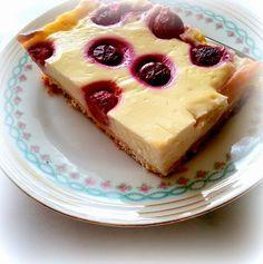 Simi´s Sattmacher- Rezepte und mehr.....: Puddingkuchen mit Kirschen und Rhabarber