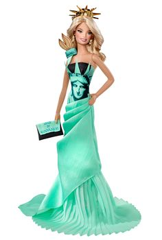 Photo of Statue of Liberty Barbie® Doll 2010 for fans of Barbie: Dolls Collection.
