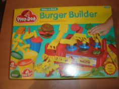 1992 VINTAGE PLAY-DOH BURGER BUILDER TONKA KENNER MIB
