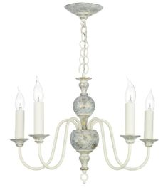 The David Hunt Lighting Flemish 5 light pendant has a traditional design frame with a distressed powder grey/gold finish. Various sizes of chandeliers and double wall light available from Luxury Lighting.
