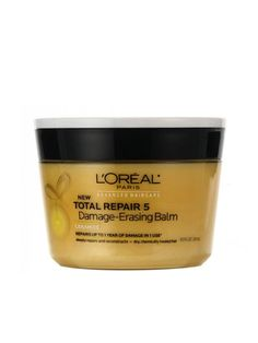 Dry, Damaged Hair? These Products Were Made for You: L'Oreal Total Repair 5 Damage Erasing Balm, $6.99