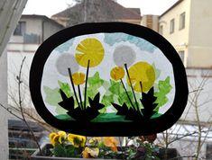 pampeliška-průsvit na okno / Prodané zboží prodejce Orsolya Waldorf Crafts, Star Art, Window Art, Art Club, Superhero Logos, Silhouettes, Paper Flowers, Art For Kids, Paper Art