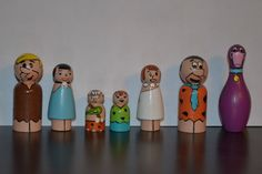 Peg People     The Flinstones