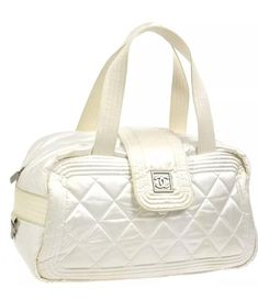 3c8daf6de8f7 Chanel Sport Nylon Pearl Top Handle Bag Fanny Pack