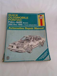 Free download general motors haynes repair manual covering fwd 1985 1995 buick oldsmobile pontiac full size haynes automotive repair manual fandeluxe Gallery